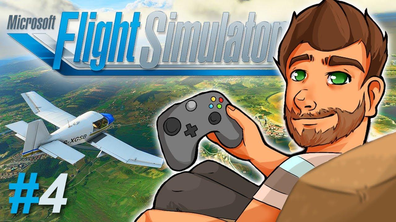 Microsoft Flight Simulator | 4. rész 🔵 Játék Bemutató (PC 4K Ultra)