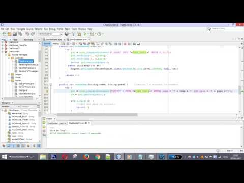 Create Database For Chat Application In Java