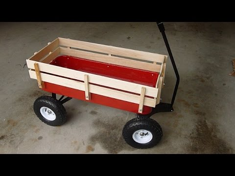 Harbor Freight Foot Panel Wagon Embly Highlights