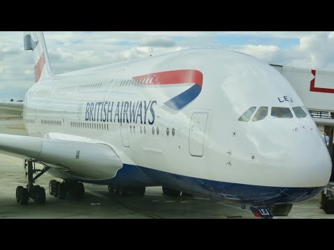 Thumbnail: British Airways A380 business class London to Vancouver (decline in service)