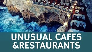 10 unusual RESTAURANTS, bars & cafes with weird interior or menus