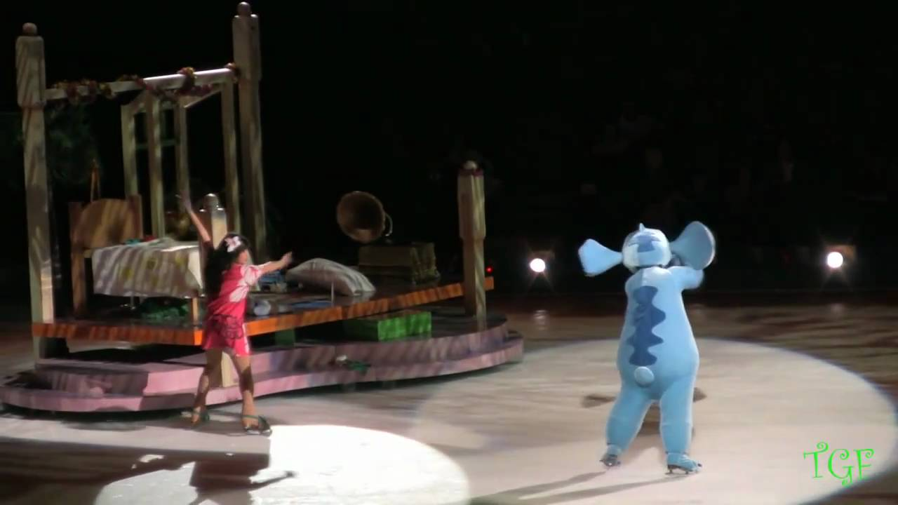 Lilo and Stich: Disney On Ice - Part 1 - YouTube