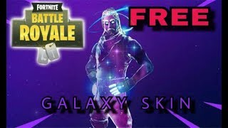 Comment obtenir la peau Galaxy GRATUIT! Fortnite Bataille Royale
