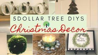 DOLLAR TREE CHRISTMAS 2019 DIY DECOR