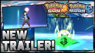SYNERGY EVOLUTION?! NEW POKEMON SUN AND MOON TRAILER! Trailer Breakdown And Analysis