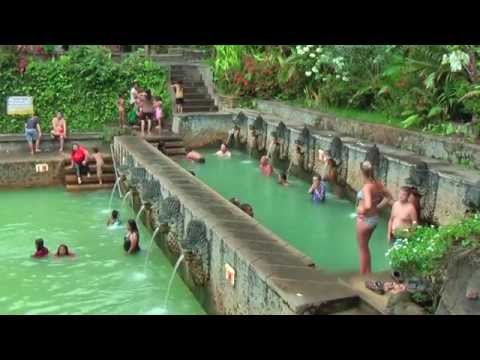 Air Banjar Holy Hotsprings, Bali, Indonesia is extremely therapeutic and cleansing