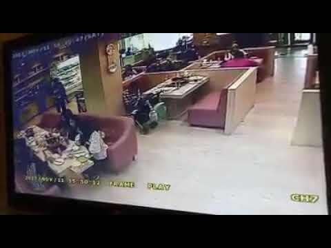Cctv : Modus Pencurian tas direstoran palembang trade center (PTC)