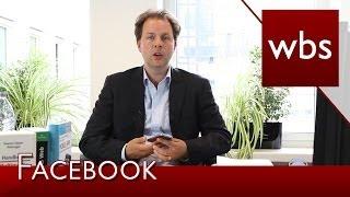 ACHTUNG: Facebook Betrugsmasche mit geklonten Konten | Kanzlei WBS