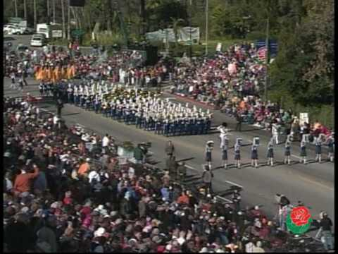 Benicia HS Marching Band Rose Parade 2005