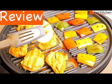 George Foreman GGR50B Indoor/Outdoor Grill Review - YouTube