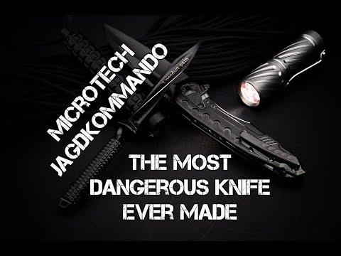 Microtech Mini Jagdkommando: The most dangerous knife on Earth?!?