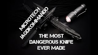 Microtech Mini Jagdkommando: The most dangerous knife on Earth?!?