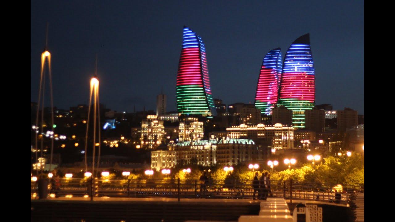 Баку – город фонтанов и парков. - YouTube