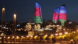 Баку – город фонтанов и парков.(Баку - это соединение современных стильных построек и старого очаровательного восточного города. Раньше..., 2016-05-16T12:15:47.000Z)