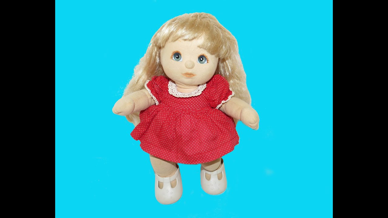 d547eaffa7f Childhood TOYS - CABBAGE Patch Dolls Vintage Doll from the 90s - YouTube