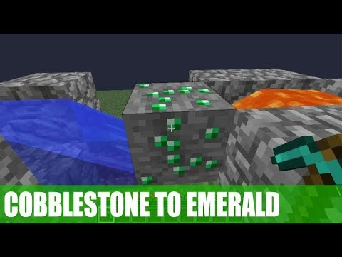 How To Make A Cobblestone Generator To Any Ores In Minecraft - Using Command Block