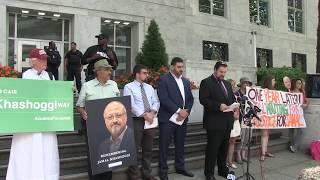 VIDEO: CAIR, Partners Remember Murdered Washington Post Journalist Jamal Khashoggi at Saudi Embassy