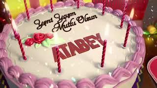 İyi ki doğdun ATABEY - İsme Özel Doğum Günü Şarkısı