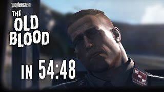 Wolfenstein: The Old Blood Speedrun in 54:48 [World Record]