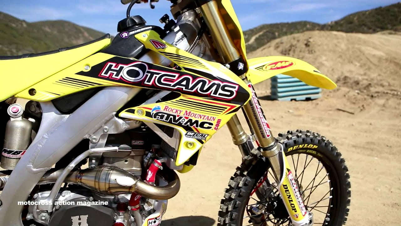 Motocross Action tests a 2008 Project Honda CRF450 - YouTube