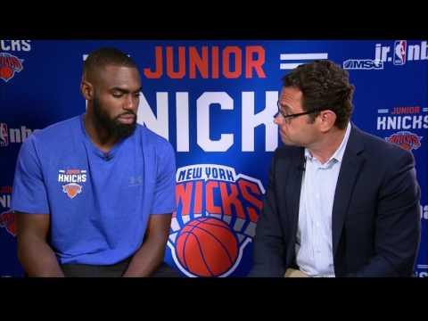 Tim Hardaway Jr. Discusses Return to the New York Knicks