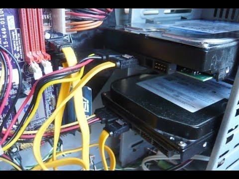 Способ как спасти данные из жёсткого диска.