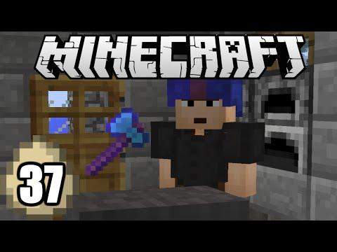 Minecraft Survival Indonesia - Farm & Blacksmith untuk Villager! (37)
