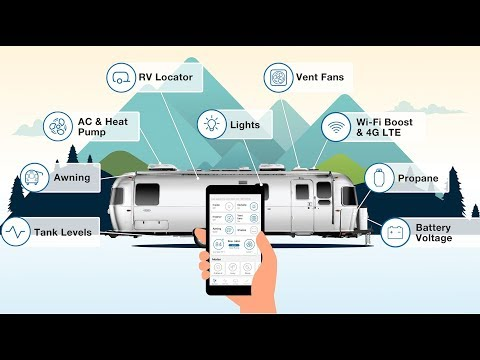 Is old-school Airstream finally embracing smart home technology?