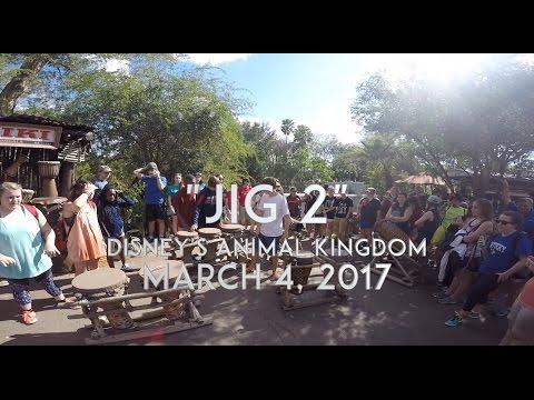 JIG 2 at Walt Disney World's Animal Kingdom - March 4, 2017