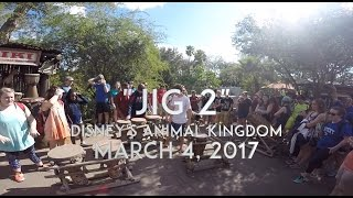 JIG 2 at Walt Disney World's Animal Kingdom - March 4, 2017
