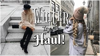 Winter Try-On Haul! // +Huge Holiday Giveaway