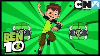 Бен 10 на русском   Прохождение игры «Бен 10: Инопланетная эволюция»   Cartoon Network
