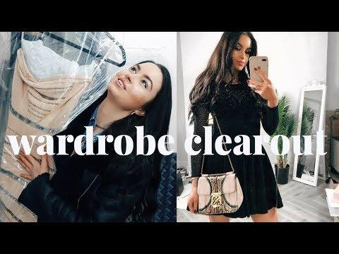 HUGE WARDROBE CLEAROUT | MOVING VLOGS | EMMA MILLER
