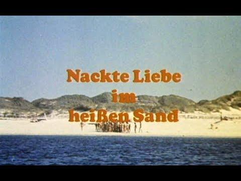 Nackte Liebe Im Heißen Sand