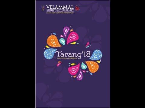 Velammal IT - Tarang - 2018