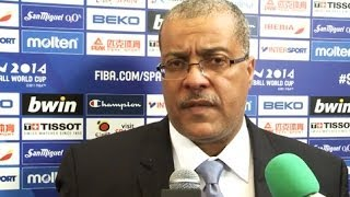 Angola coach Paulo MACEDO Final Draw reaction