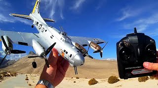 Video B17 Bomber RC Airplane with Gyro Stabilization download MP3, 3GP, MP4, WEBM, AVI, FLV Juli 2018