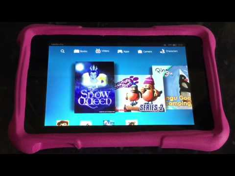 Professional review of: Kindle Fire Kids Edition – Fire HD 6""