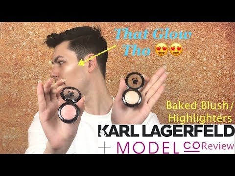 Model CO x Karl Lagerfeld Baked Blush by Model Co #6