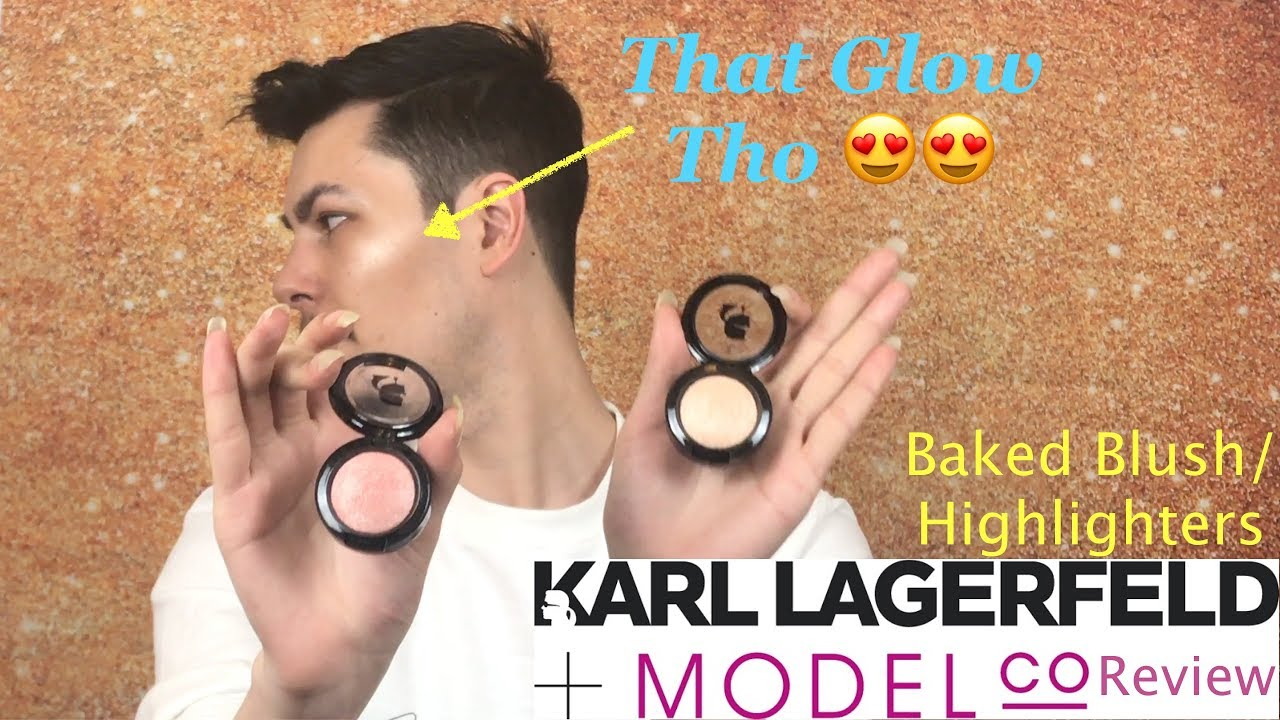Model CO x Karl Lagerfeld Baked Blush by Model Co #8