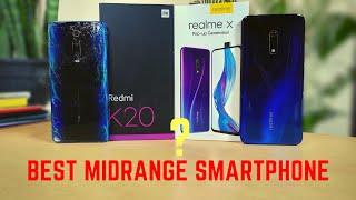 Redmi K20 vs RealMe X Comparison - HYPE vs REAL Life | Hindi