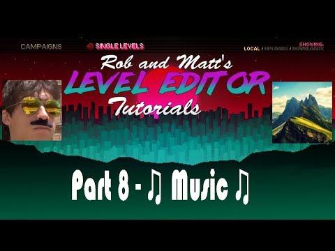 Hotline Miami 2 Level Editor Tutorial Part 8 - Music Mods