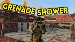 ARMA 3 Exile - Part 79 - GRENADE SHOWER