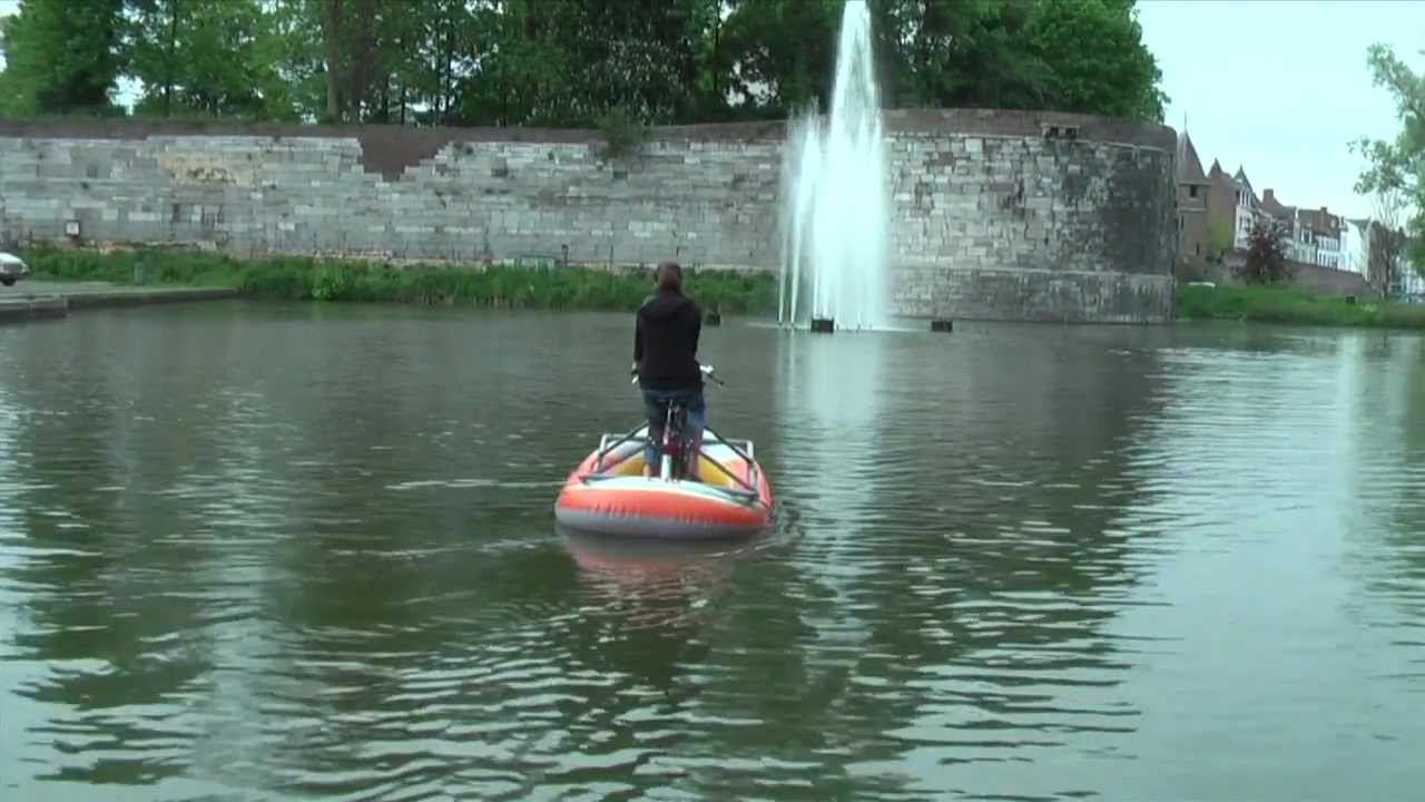 Simple Amphibious Bike Youtube