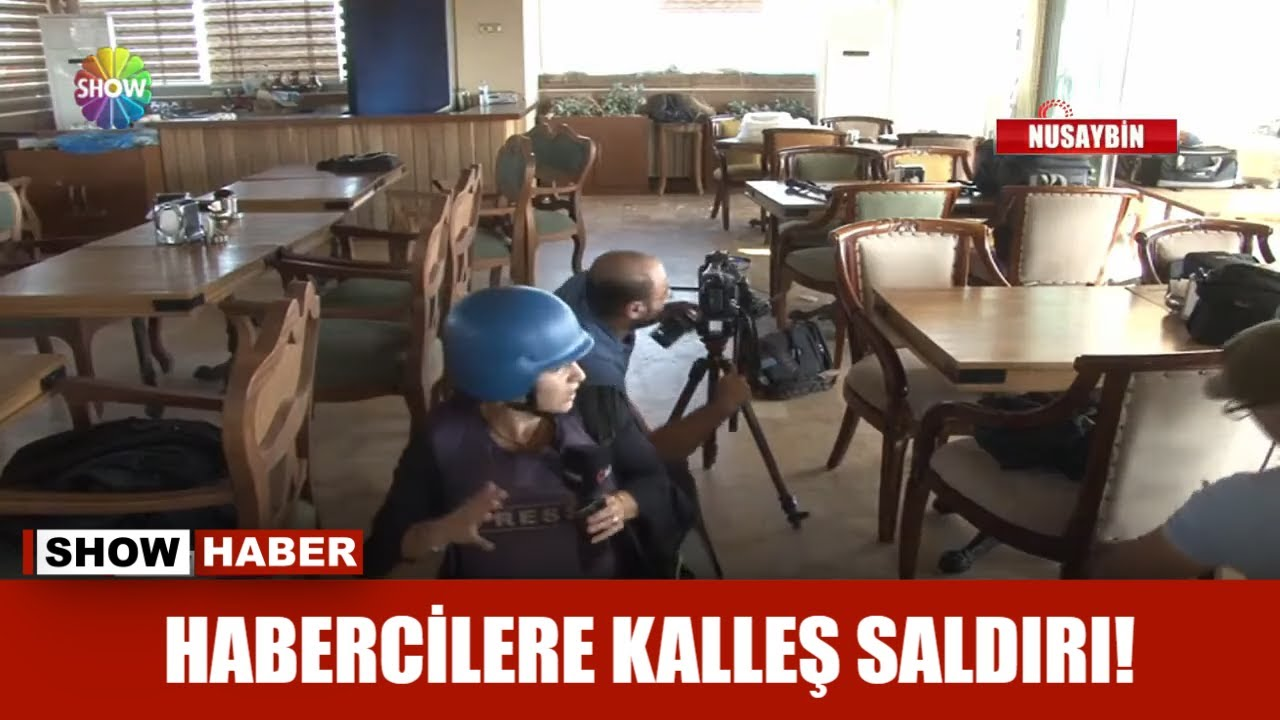 Habercilere kalleş saldırı!