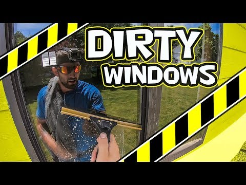 HOW TO QUICKLY CLEAN DIRTY WINDOWS | WINDOW CLEANING