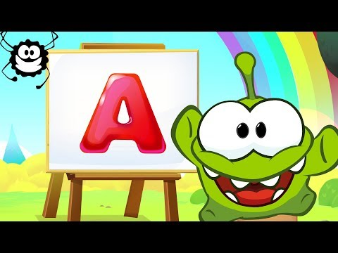 ABC Song | Learn English With Om Nom | Cartoon Alphabet Song