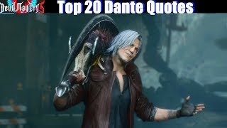Download lagu Dante mocking his Enemies (DMC1-DMC5 Best Quotes) - Devil May Cry 5 2019