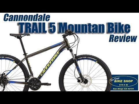b752ba10cb2 2017 Cannondale Trail 5 MTB REVIEW! San Diego Bike Shop - YouTube