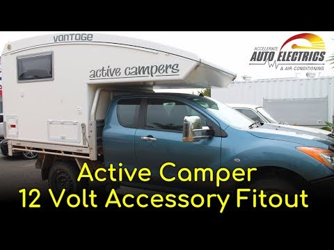 Active Camper Off-Grid & Free Camping Fitout - Accelerate Auto Electrics & Air Conditioning